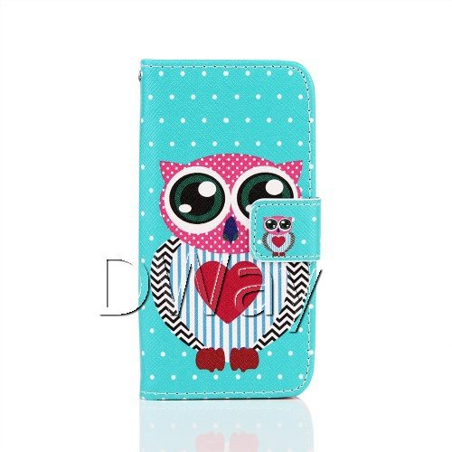 New Stylish Grip Painting PU Leather Wallet Handbag Book Cover Case For Samsung Galaxy S5 Mini G800 Flip Case Shell Bag + Film(China (Mainland))