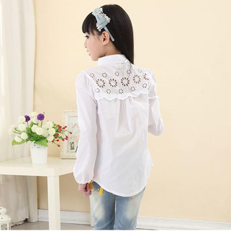Блузка рубашка для девочки с доставкой