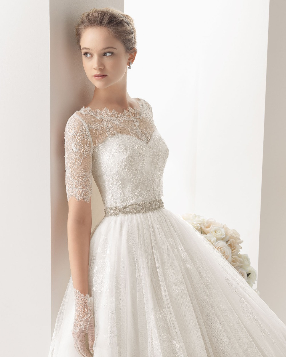 Wedding Dresses Long Sleeve Uk 32