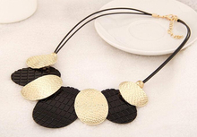 2015 New Maxi Necklace Colar Big Brand Collares Bib Choker Chunky Woman Necklace Vintage Summer Style