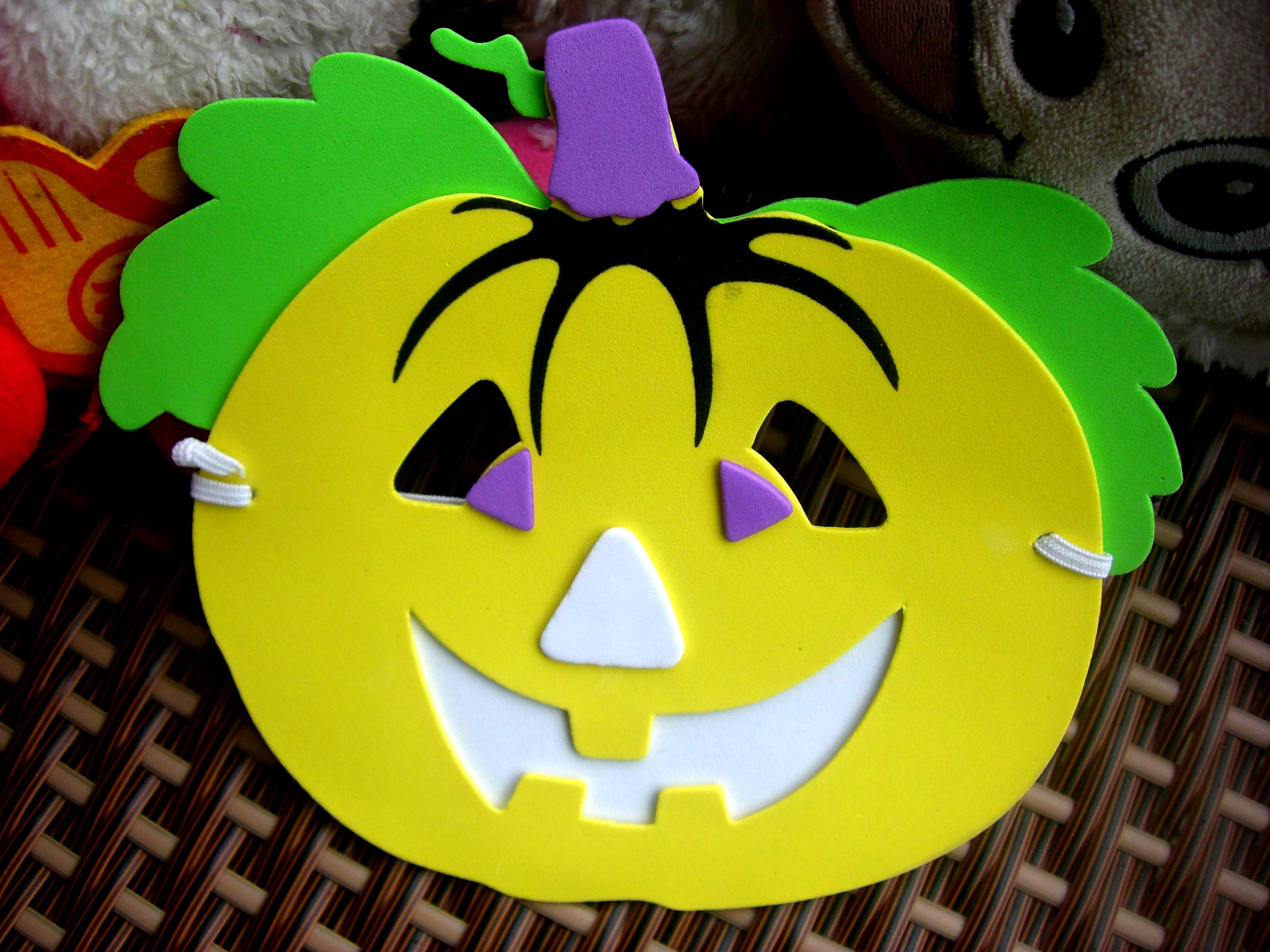 Маска на Хэллоуин своими руками из бумаги для мальчиков и 93