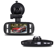 New Style Car Recorder Black G sensor Full HD 1080P Car Dash DVR G1W Capacitor Novatek