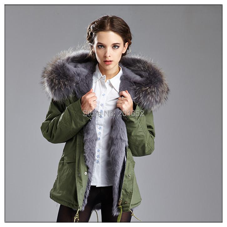 Online Get Cheap Women Army Winter Fur Coat -Aliexpress.com ...