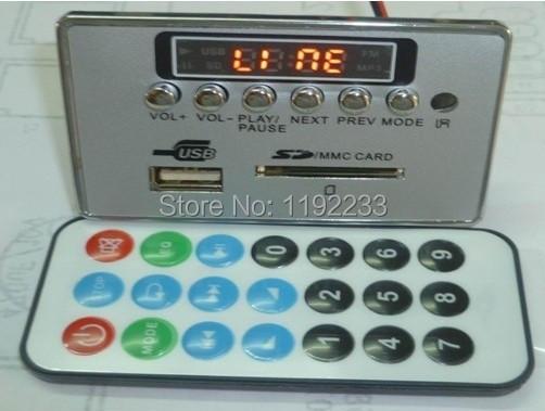 6 Key MP3 Decode Board Bluetooth MP3 Decoder Module Lossless WAV Decode Board MP008(China (Mainland))