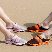 Women shoes slippers zapatos mujer casual shoes 2016 hot lovers mesh men sandals flip flops