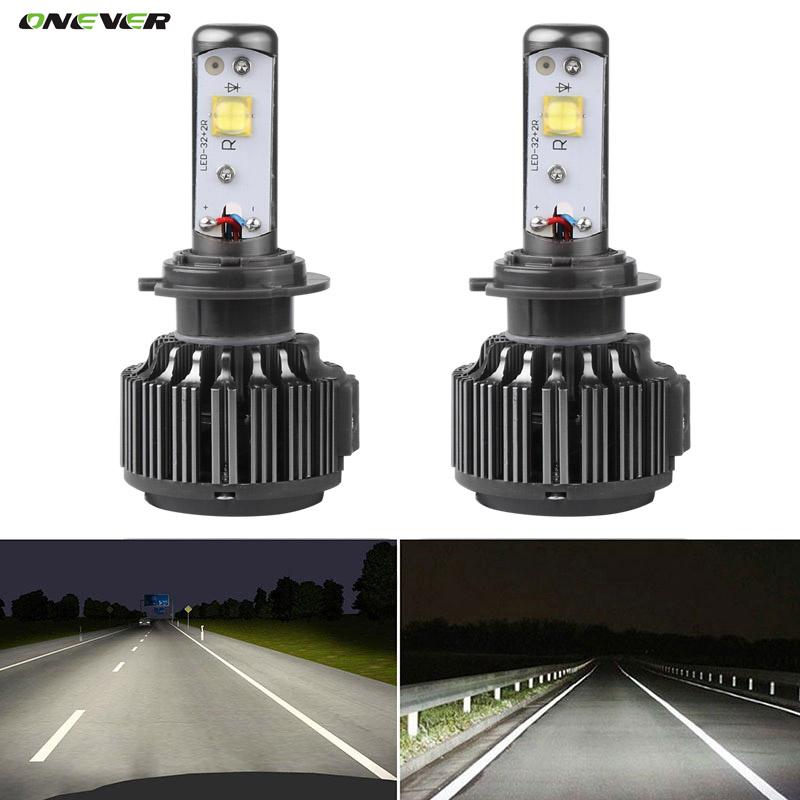 CREE LED Chips Car Headlight H7 30W/Bulb Auto Led Headlight Bulb 7200Lm 6000K Headlamp for Toyota Honda Nissan BMW Mazda VW(China (Mainland))