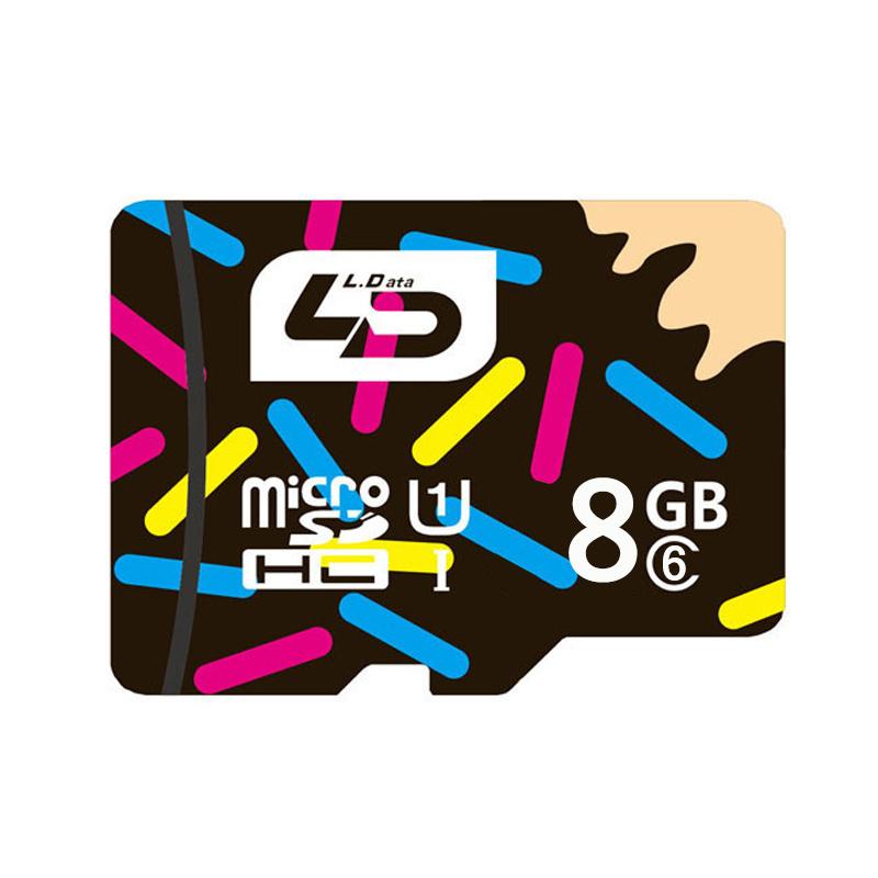 LD MicroSD Micro SD SDHC Class10 TF 32gb 64gb 16gb Memory Card Support Official Verification Card Micro Sd 8GB Class6(China (Mainland))