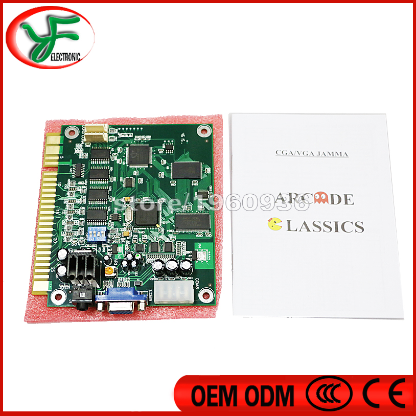 FREE SHIPPING Jamma game 60 in 1 Classical Game PCB for Cocktail Arcade Machine or Up Right arcade game machine(China (Mainland))