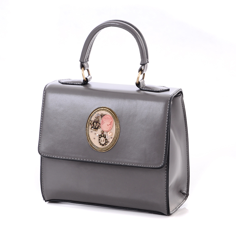2016 New Leisure Square Bag Ladies Handbag Women Messenger Bags Shaped Bright Side Shoulder Bags Freeshipping(China (Mainland))