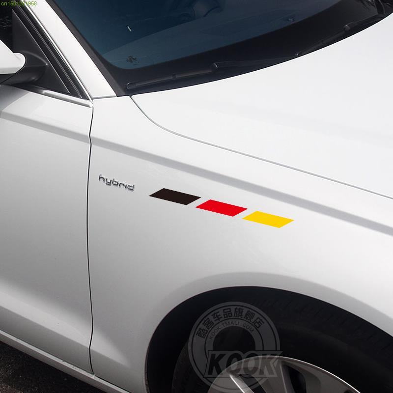 Germany Flag tape 3 color car stickers decals for carbody any where water proof relfective car styling(China (Mainland))