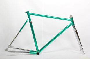 fixie Bicycle Fixed gear chrom-moly vintage frame and fork fixed gear frameset fixie bike(China (Mainland))