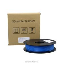 Blue Color 3D Printer Filaments ABS 1 75mm 0 5kg Plastic Rod Ribbon Consumables Material Refills