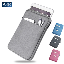 Shockproof Tablet Sleeve pouch Case for ipad mini 2 3 4 ipad Air 2 Pro Cover thick AKR 2016 New Arrival Free Shipping(China (Mainland))
