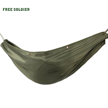 FREE SOLDIER outdoor camping hiking Multiple use mats picnic rug tent carpet hammock swing sleeping bag double hammock(China (Mainland))