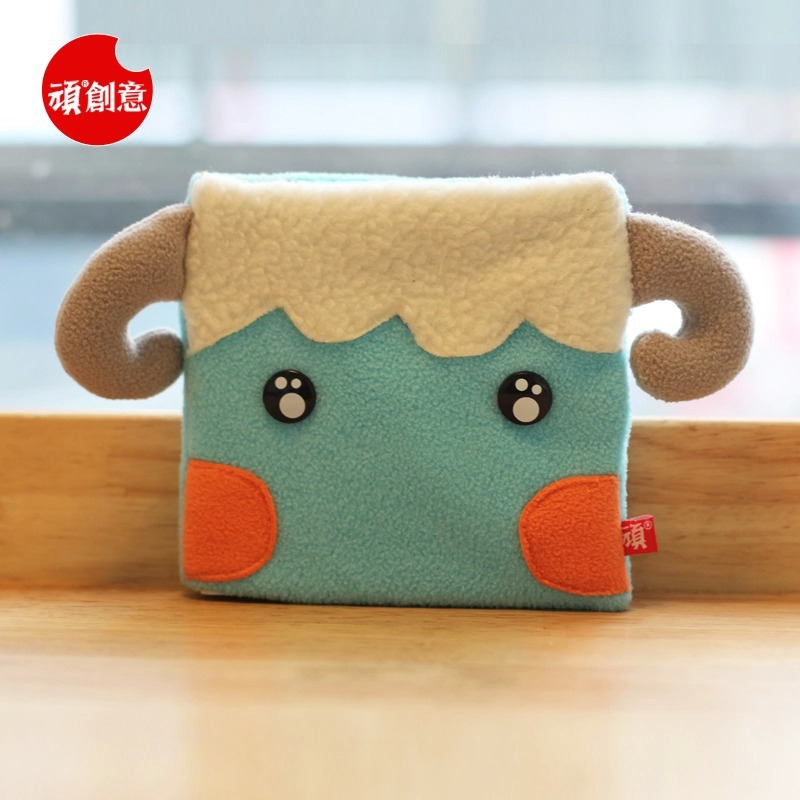 2015 Cute Kawaii Cartoon Sheep Velveteen notebook creative trends Notebook Diary Planner Notepad Kids Gift DIY Stationery - Fashion Shop 7 store
