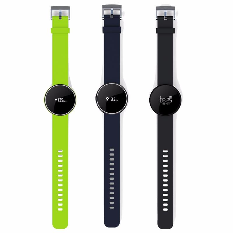 ถูก Uw1บลูทูธ4.0กีฬาsmart watchสร้อยข้อมือheart rateโทรsmsเตือนIP67 PedometerสำหรับA Ndroid IOSโทรศัพท์นาฬิกาPK Q18 U8