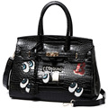 Fashion lady bag Korean design Sequins B handbag bright big eyes messenger bag PU leather