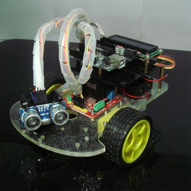 Arduino Robot Smart Car KIT UNO R3 L298N Savor Ultrosonic Distance Ranging<br><br>Aliexpress