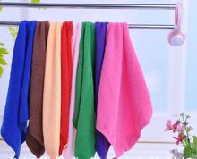10 Pcs Mixed Color Microfiber Car Cleaning Towel Home Washing Polishing Cloth HG