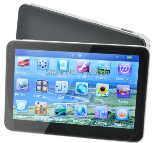 "New 5"" Car GPS Receiver Navigation Sat Navi FM Mp3/Mp4 2D/3D EU/UK New Map 4G(China (Mainland))"