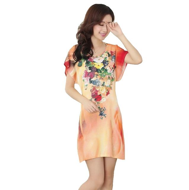 Женская одеяние ванна платье ночная рубашка симпатичные пижамы Pijama Mujer новинка ...