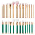 15Pcs Set New Fashion Design Professional Makeup Brushes Set Cosmetic Powder Concealer Blush Natural Color GUB