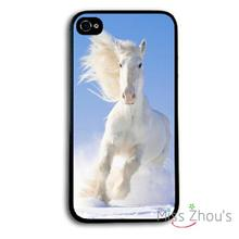 Hot cool horse animal Protector back skins mobile cellphone cases for iphone 4/4s 5/5s 5c SE 6/6s plus ipod touch 4/5/6