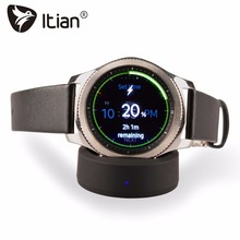Buy Qi Wirless Charger,Itian Wireless Charging Dock Cradle Charger Samsung Gear S3/S2 Classic,Gear S3/S2 Frontier Watch for $8.54 in AliExpress store