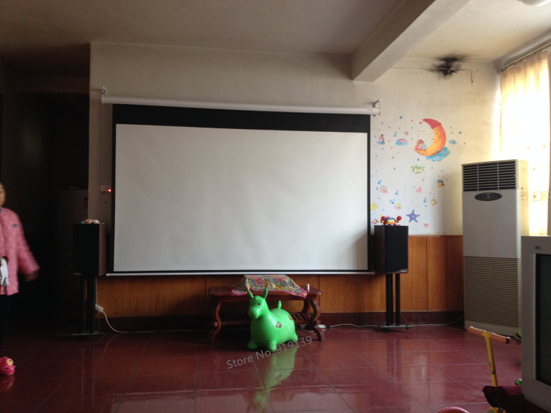 Electric projection screen pic 26