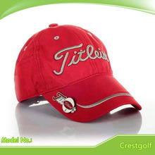 Top Quality Golf cap with a golf ball marker waterproof Casual baseball cap snapback hat cap fitted hats with 6 colors(China (Mainland))