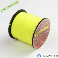 Free shipping 6 strands 90LB 100M Spectra Braid Fishing Line Super Strong Fishing Line -- SUNBANG