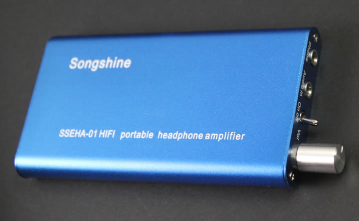Songshine SSEHA-01 Hifi Portable Headphone Amplifier Mobile Phone Amplifier 15-35KHz 30-300ohm 3.7V 1110mAH Max 800mW Power Out<br><br>Aliexpress