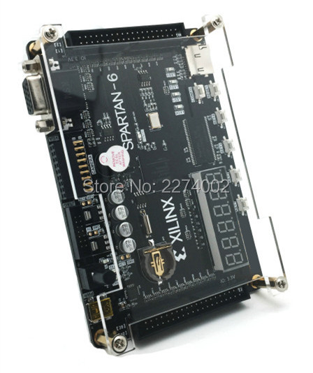 Free ship New Xilinx spartan FPGA development board Xilinx spartan6 XC6SLX9 with 256Mb SDRAM EEPROM FLASH SD card Camera VGA(China (Mainland))