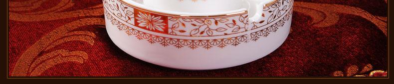 Buy Jingdezhen 56 high quality ceramic bone china tableware bowl dish dish Spoon Set housewarming gifts cheap