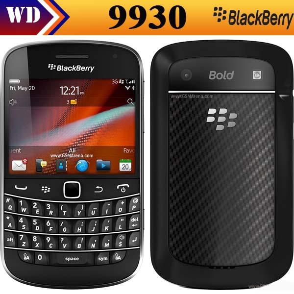 Original BlackBerry Bold Touch 9930 WIFI 3G GPS Bluetooth Unlocked Mobile Phone Refurbished(China (Mainland))