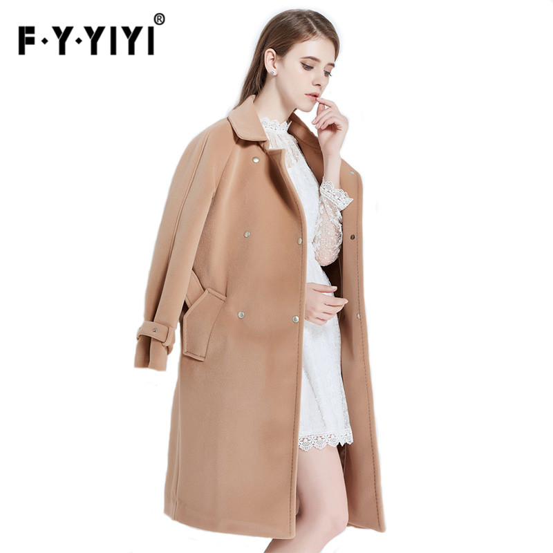 High Quality Camel Cashmere Coat Promotion-Shop for High Quality ...