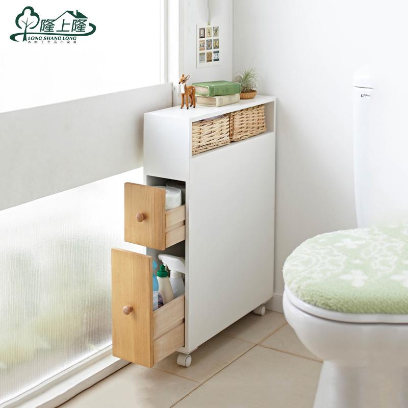 goedkope pompen wc wc papier zijkabinet mobiele kast kasten kast badkamervloer kast waterdicht opslag(China (Mainland))