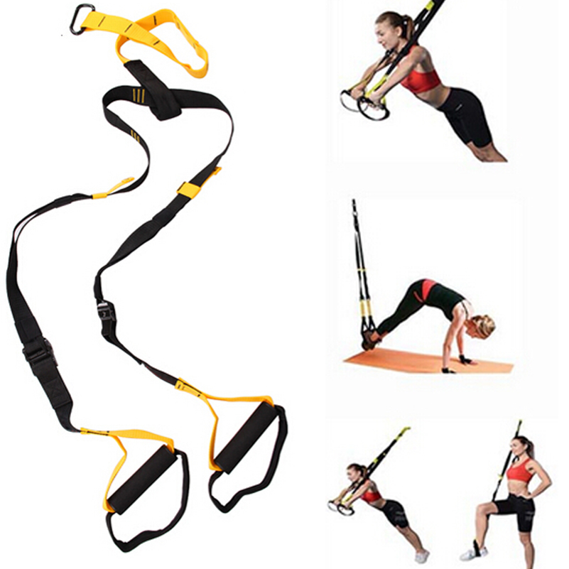 Home Workout Resistance Band Strength Training Exerciser Hanging Training Strap Yoga Band FITNESS Cross Fit Suspension Trainer(China (Mainland))