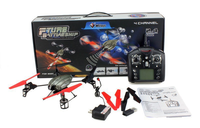 2015 Sale Rushed 4 Channels Mode2 Drones Wl V959 Rc Helicopter With Camera Ufo 4ch 2.4ghz Mini Radio Quadcopter Gyro Rtf With(China (Mainland))