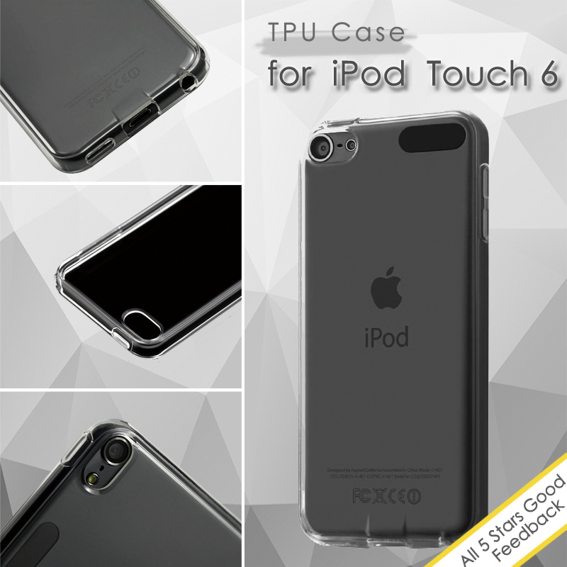 Гаджет  for iPod Touch 6 Durable TPU Protective Phone Case for iPod Touch 6 None Телефоны и Телекоммуникации