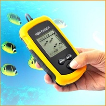 Top Quality Fish Finder Portable Sonar Wired LCD Fish depth Finder Alarm 100M AP Electronic Fishing Tackle, Dropshipping(China (Mainland))