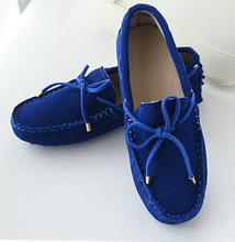 100% Genuine leather Women flats China Brand Handmade Women Casual leather shoes,Leather Moccasin Fashion Women Driving Shoes(China (Mainland))