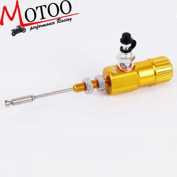 Motoo - Motorcycle performance hydraulic brake clutch master cylinder rod system performance efficient transfer pump