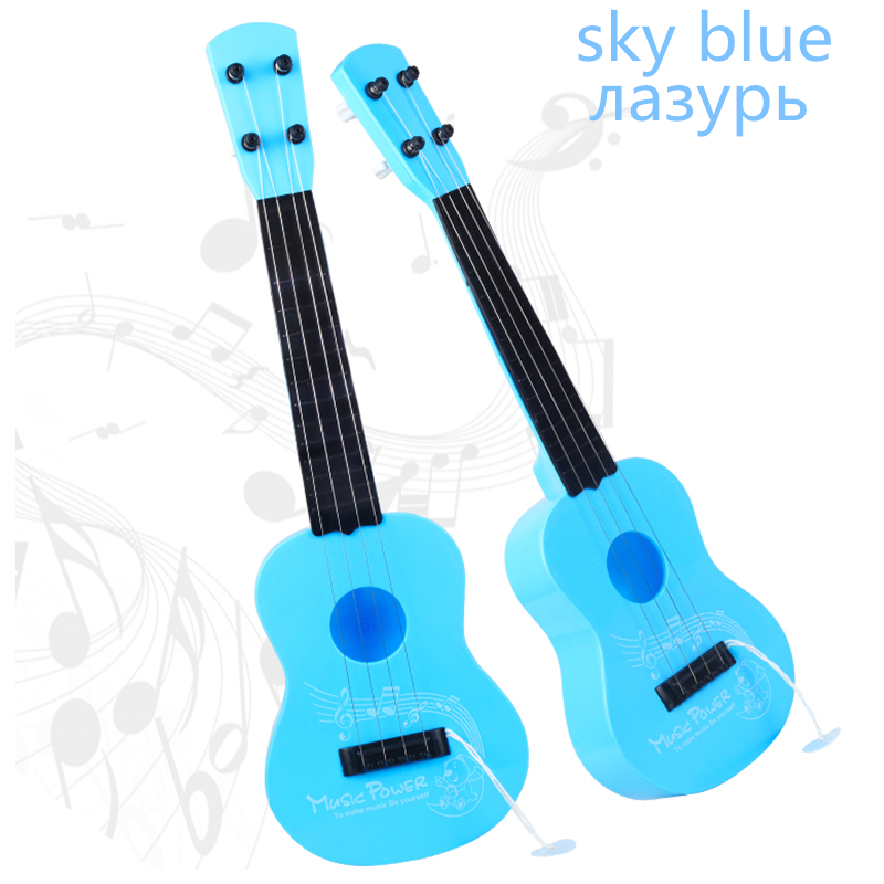 SOACH Toys can play the guitar and lovely pink bass guitarra 4 string ukulele stratocasters guitarra electrica guitars china(China (Mainland))