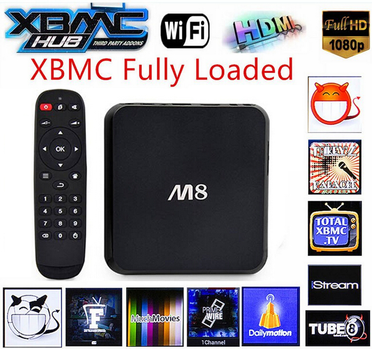 Телеприставка Android TV Box M8 Android Amlogic S802 4K HD 2G /8G GPU Mali450 XBMC Google TV Bluetooth 2.4 G/5 g WiFi  tv android quad core koid xbmc android tv box amlogic s812 2g 16g 2 4g 5g dual mali450 gpu 4k hdmi bluetooth dolby true hd midia player