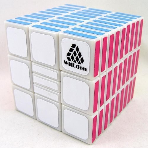WitEden Totally Useful 3x3x9 Model II Magic Dice White Sizzling Promoting Academic Twisty Toy for Youngsters and Speedcubers