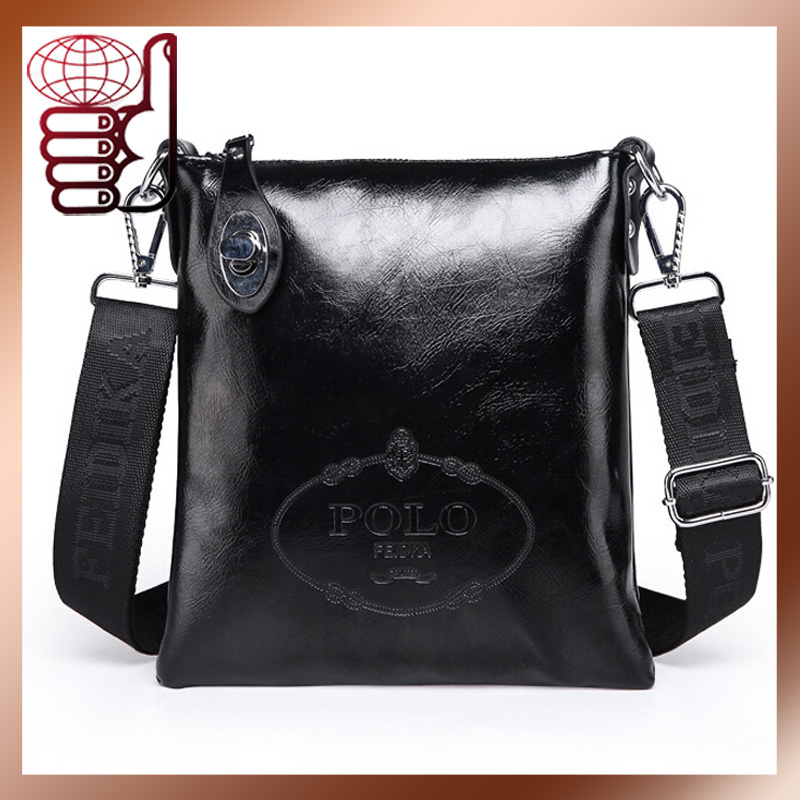 2015 New Men Messenger Bags Low Price Lurxry Leahter Business Casual Bags Men Single Shoulder Bag