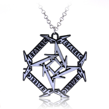 Latest Fashion Jewelry Rock And Roll Band Metallica Letter Logo Metal Band Necklace(China (Mainland))