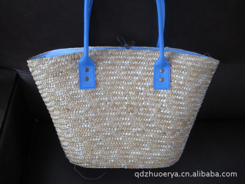 Supply of straw bags , straw hats , shopping bags, storage baskets, hand-woven , environmental health(China (Mainland))