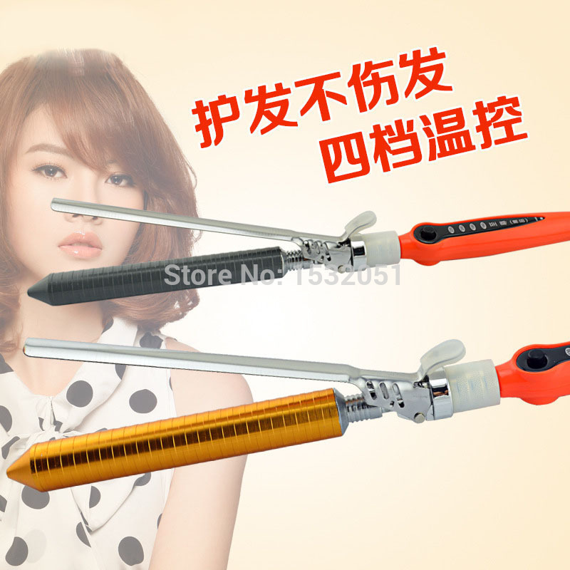 2015 Hot Sale Sale Curling Iron Sex Products Barber Shop Dedicated Professional Hot Curlers Senior Cone Head Big Pear Wholesale(China (Mainland))